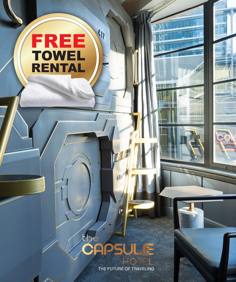 The Capsule Hotel - Redcliffe Tourism