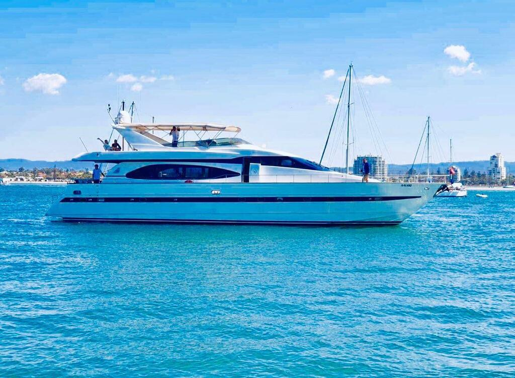 Million dollar Luxury 90ft yacht in Gold Coast - Redcliffe Tourism