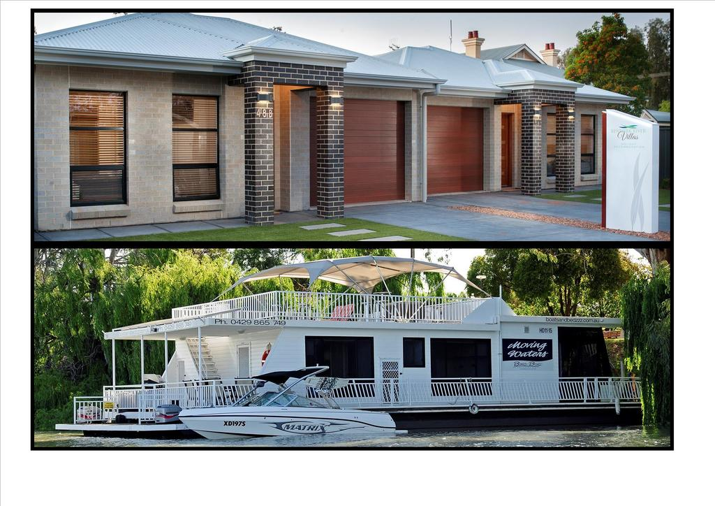 Renmark River Villas and Boats  Bedzzz - Redcliffe Tourism